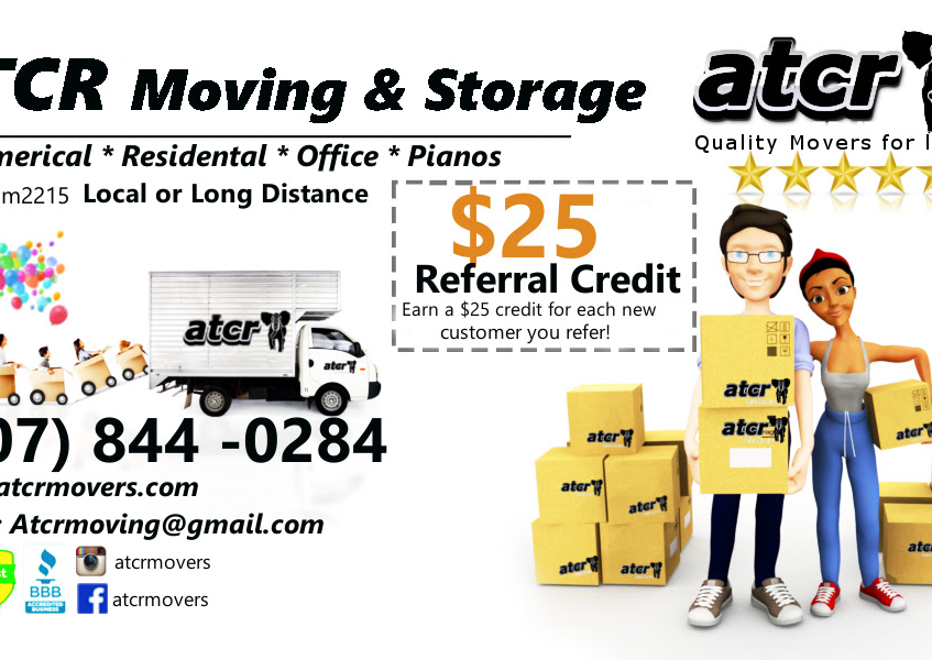 atcr movers business card