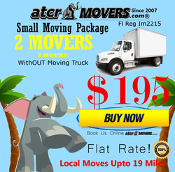 atcr movers labor only moving package 2 Movers 2 Hours without truck $195
