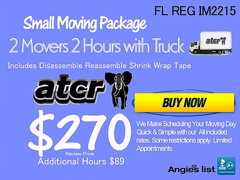 small moving package atcr