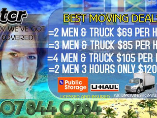 WHEN ITS TIME TO MOVE IN CENTRAL FLORIDA. CALL ATCR PROFESSIONAL MOVERS