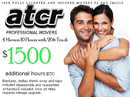 atcr 4 Movers 10 hours 1500 package