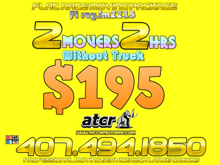 What a Great Moving Deal by ATCR MOVERS..