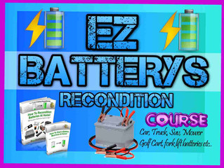 BRING BATTERY BACK TO LIFE MOWER, CAR, TRUCK, SUV- BATTERY RECONDITION