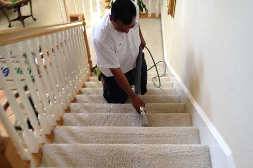 Clean Carpeted Stairs $ 3 PER STAIR