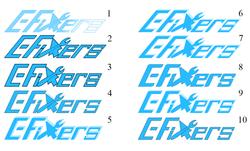 E-Fixers Logo Design Process