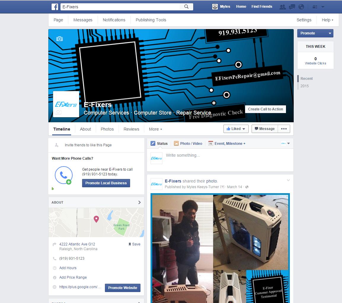 E-Fixers facebook