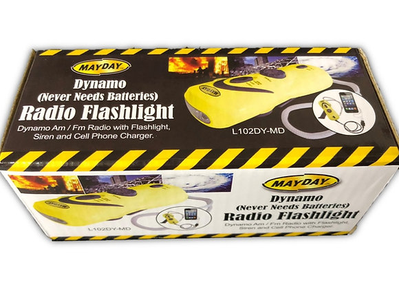 Mini Dynamo Radio/Flashlight/Charger
