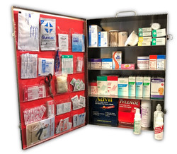 4 shelf first aid cabinet from first aid