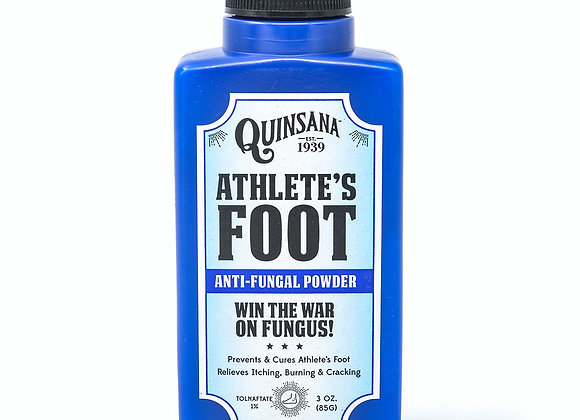 Quinsana Athletes Foot Anti-Fungal Powder 3 Ounce