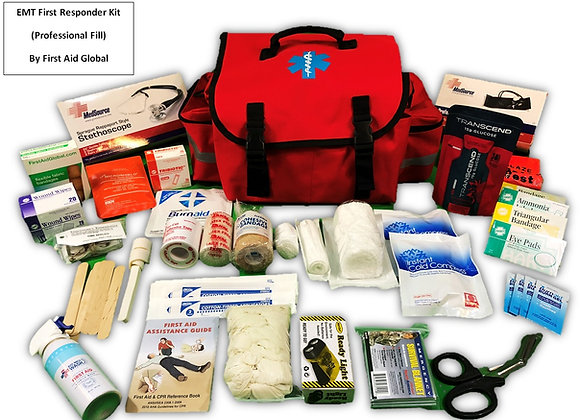 EMT/Paramedic First Responder Kit (professional fill)