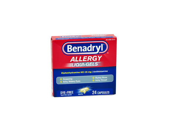 Benadryl Allergy LiquiGels