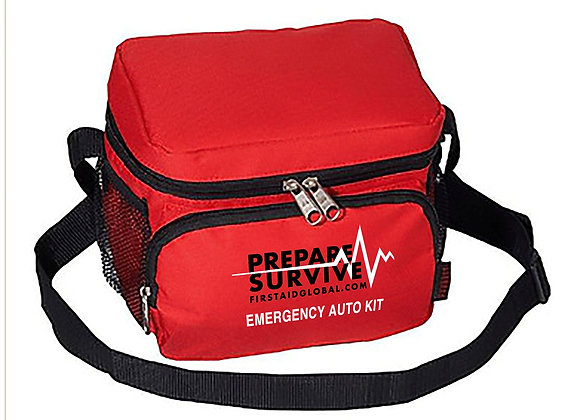Emergency Auto Kit with Blue Can Water - 50-year Shelf Life