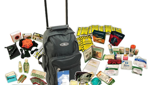 The Aftermath Kit - Backpack on Wheels