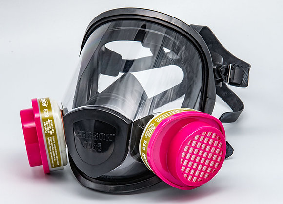 Gerson Full-Face Respirator Gas-Mask (includes 2 multi-filters)