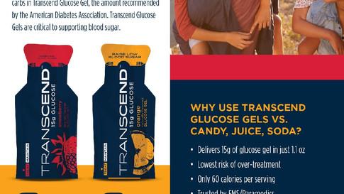 Transcend Energy Glucose Gels
