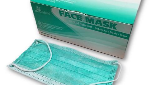 N95, Earloop & Full-Face Respirators