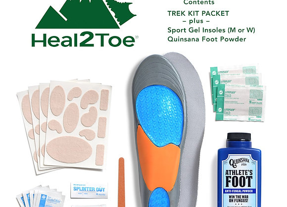 "New ""Heal2Toe"" Elevation Foot Kit"