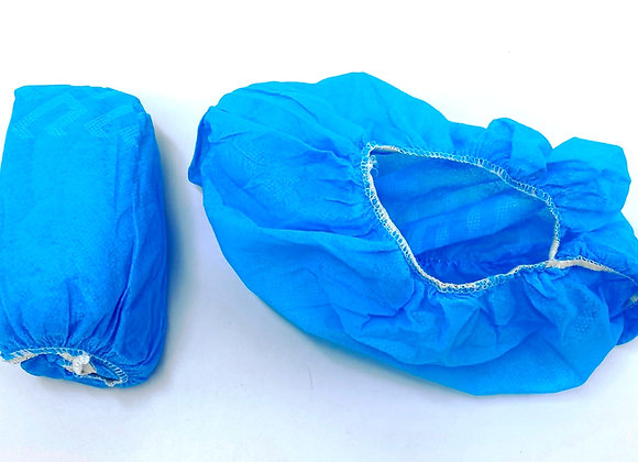 Shoe Covers - Non-Skid Blue Booties