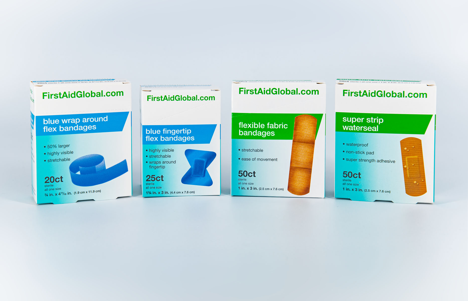 FirstAidGlobal Bandages Bundle