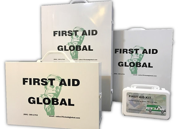 First Aid Cabinets - Stocked