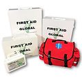 first aid cabinets and soft packs
