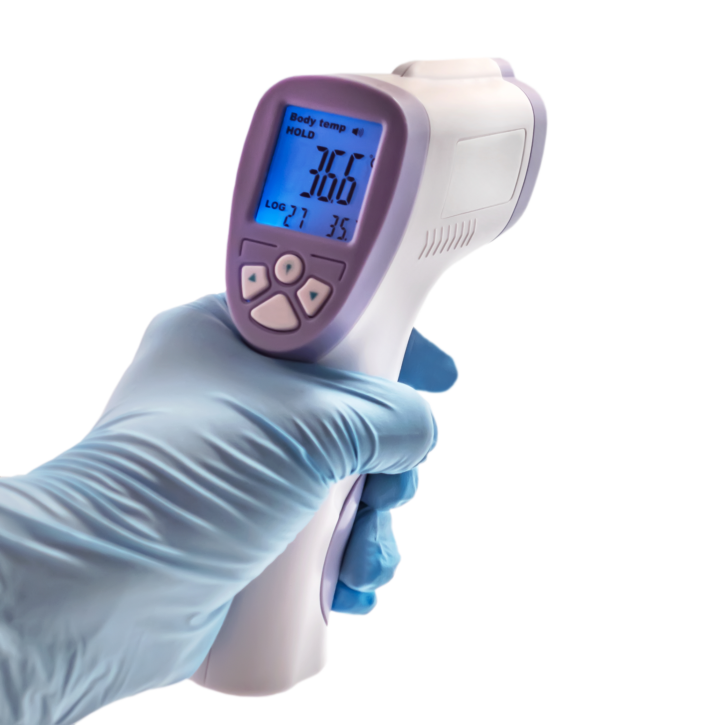 infrared thermometer used
