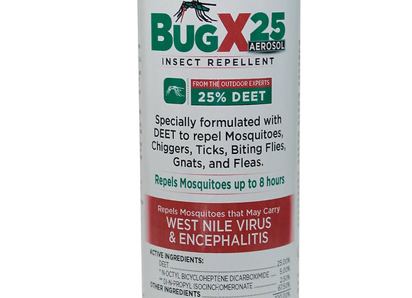BugX25 Insect Repellent with 25% Deet