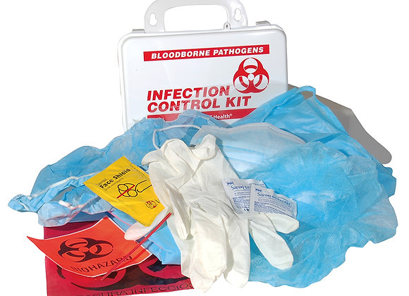 Infection Control & Clean-up Kit for Bloodborne Pathogens
