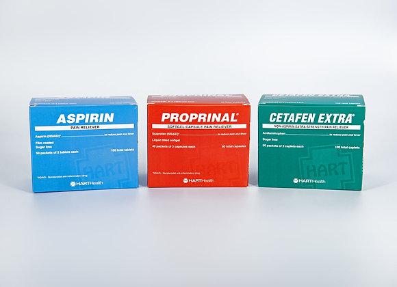 Pain Reliever Generic Tablet Bundle