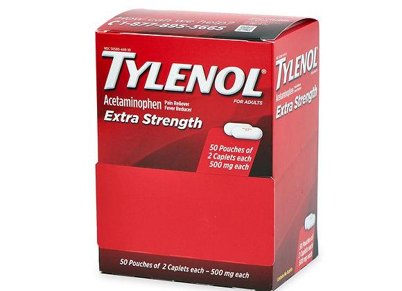 Tylenol Extra Strength Caplets 500mg