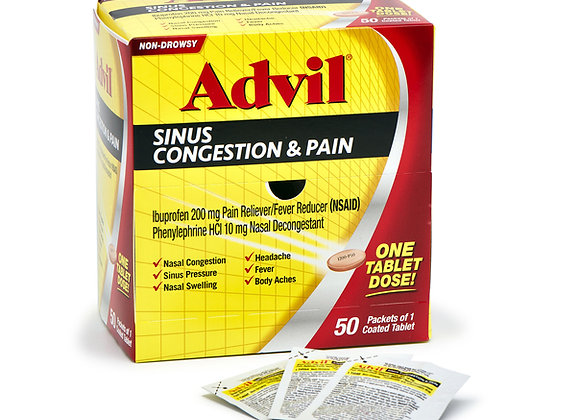 Advil Sinus Congestion & Pain Caplets