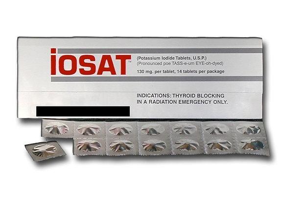 IOSAT KI Potassium Iodide Tablets