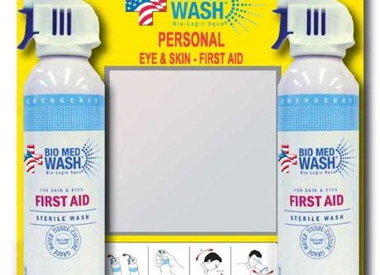 Bio Med Wash Emergency First Aid & Sterile Eye Wash