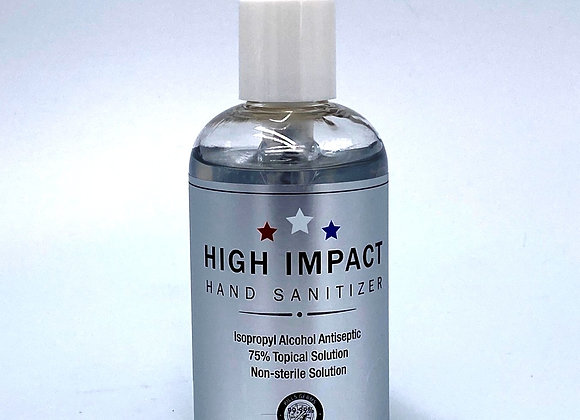 High Impact Liquid Hand Sanitizer Gel
