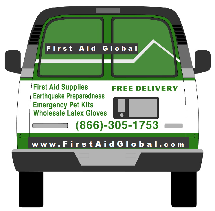 FirstAidGlobal van delivery