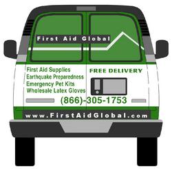 FirstAidGlobal van delivery