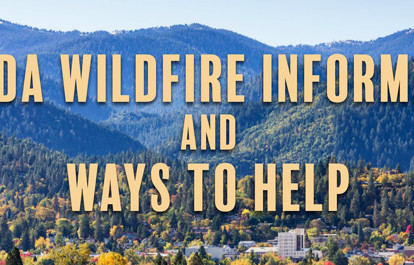 Update on fires near Ashland and how to help