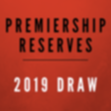 Kiwi Hawthorn 2019 Draw Premiership Reserves