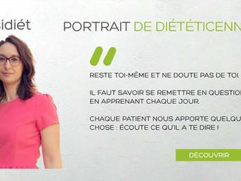 """Interview de Visidiet pour notre diététicienne Jessica : """"Reste toi même et ne doute pas de toi"""""""