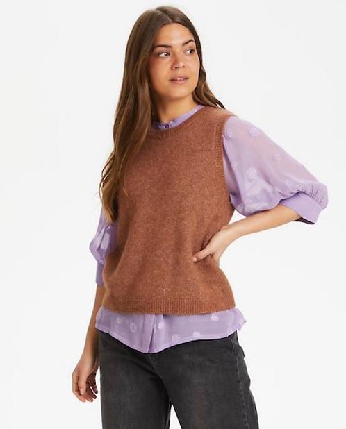 Part Two - Eyja Knitted Sleeveless Jumper