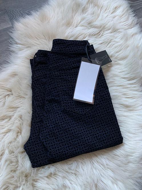JQ-Debbie - Flock Blue Black Jeans