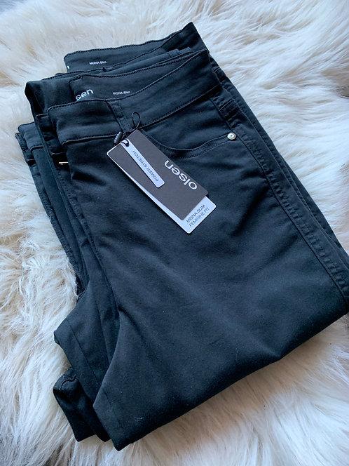 Olsen - Mona Slim Black Jeans