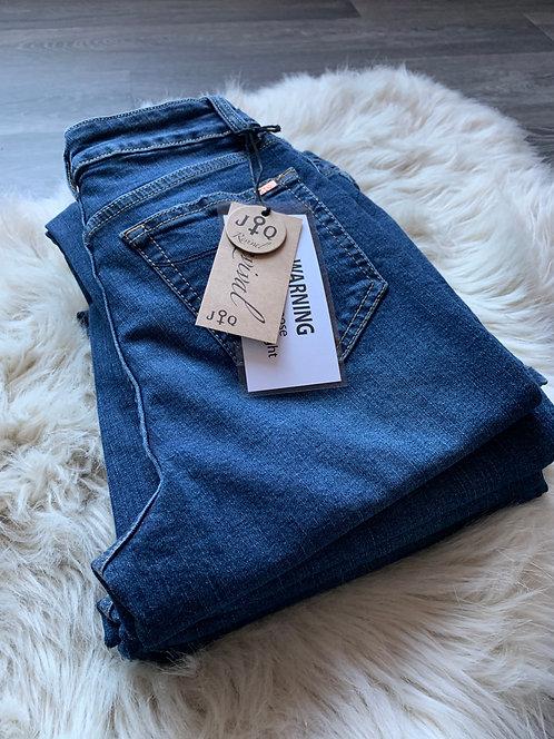 JQ-Susan - Dark Destroyed Jeans