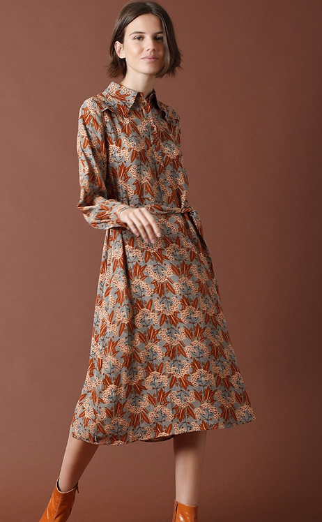 Indi & Cold - Shirtdress with 20's Print