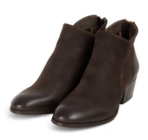 Hudson - Apisi Tumbled Nubuck Brown Boot
