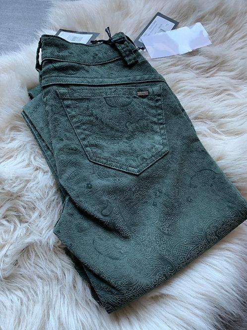 JQ-Penelope - Olive Flock Jeans