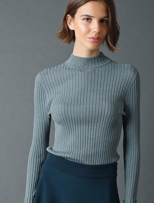 Indi & Cold - Ribbed Viscose Sweater