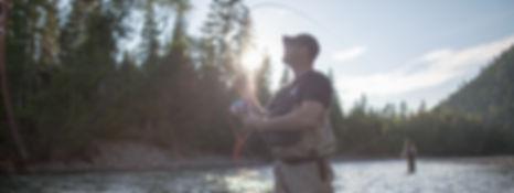 Bonnaveture River Atlantic salmon fishing