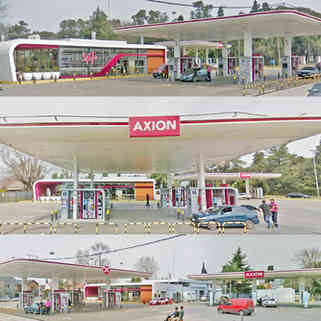 Axion Fisherton