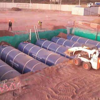 Instalacion de tanques de combustible - Opessa Desaguadero - Mendoza